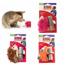 Kong Refillable Catnip Toys