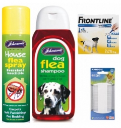 Flea and Tick Frontline Bundle Set