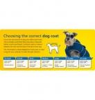 Ancol Hi-Vis Stormguard Waterproof Fleece Lined Dog Coat