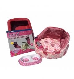 Kitten Luxury Starter Kit for Girl - Hearts