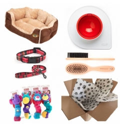 Puppy Luxury Starter Kit for Boy - Fur Lined
