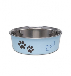 Loving Pets Bella Bowl Murano Blue