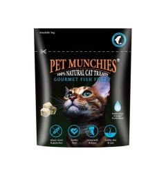 Pet Munchies Cat Gourmet Fish Fillet 10G