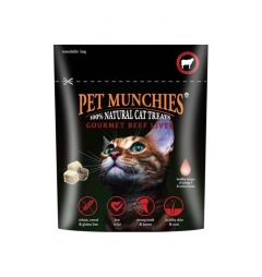 Pet Munchies Cat Treats Beef & Liver 10G