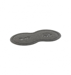 Ancol Cat Paw Feeding Mat - Grey