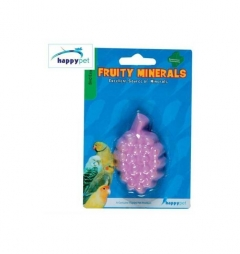 Happypet Fruity Mineral Block 1oz Grape Flavour