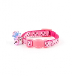 Ancol Pink Stars Kitten Collar with Charm
