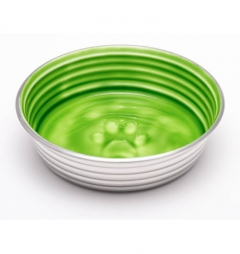 Loving Pets LE BOL Award Winning Dog Bowl in Lime Green