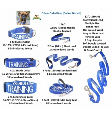 TRAINING Colour Coded Dog Wear