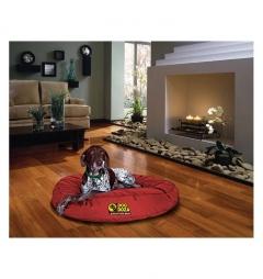 Dog Doza Waterproof Round Bed - Red