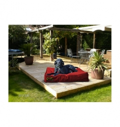 Dog Doza Waterproof Mattress Bed - Red