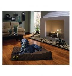 Dog Doza Waterproof Mattress Bed - Brown