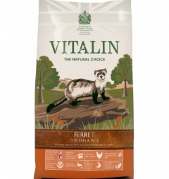 Vitalin Hypoallergenic Ferret Food - Chicken and Rice 2kg
