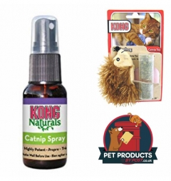 Kong Hedgehog Catnip Toy and Catnip Spray