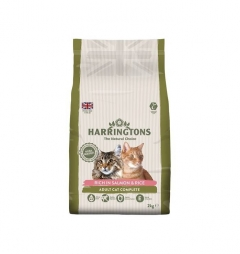 Harringtons Complete Cat Dry Food - Salmon and Rice