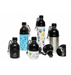 Long Paws Pet Dog/Puppy Lick n Flow Water Bottles 500ml