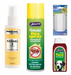 Dog Flea Grooming Bundle Girl